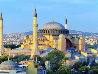 Hagia Sophia Overlooking Bosphorus