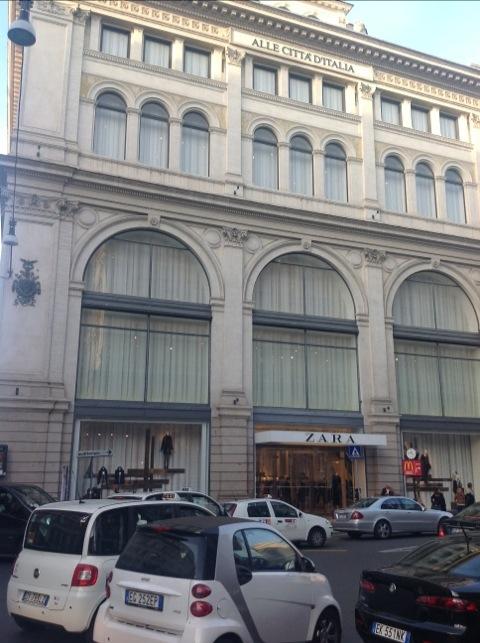 Zara em Roma