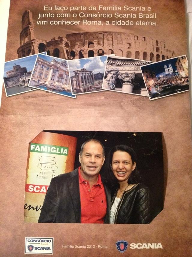 Família Scania em Roma