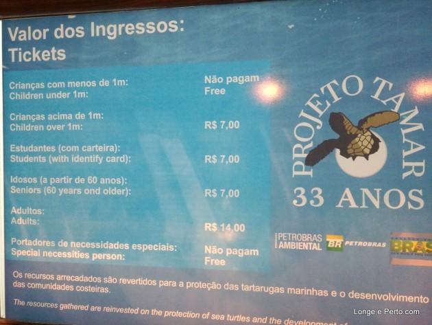 oceanario Projeto Tamar