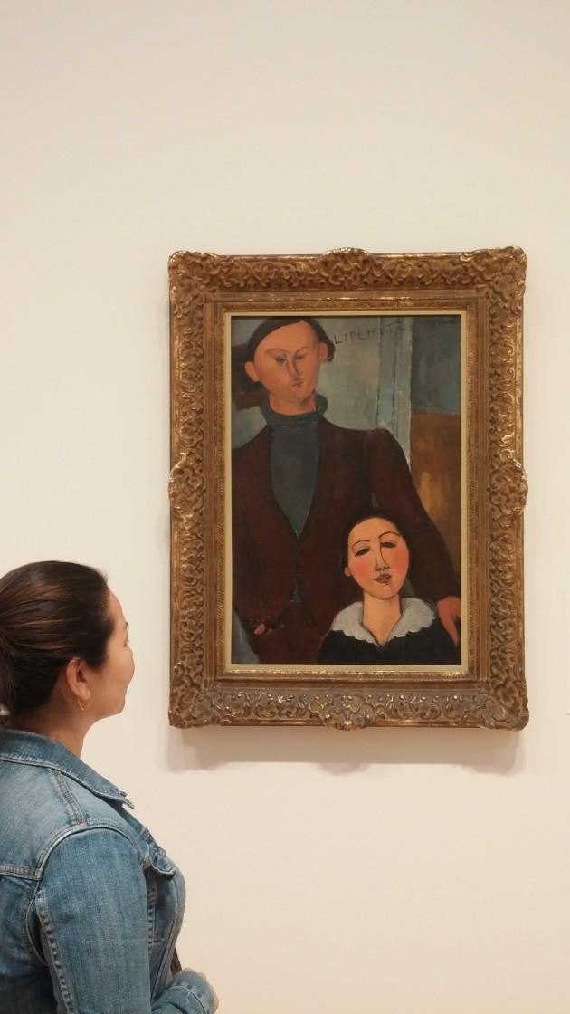 Modigliani no Chicago Art Institute