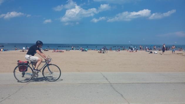 Lago Michigan - Praia - Chicago