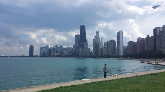 Lago Michigan - Orla - Chicago