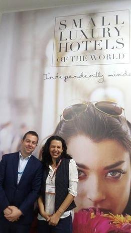 Tim - VP da Small Luxury Hotels e Carla Caldas ( Longe e Perto )