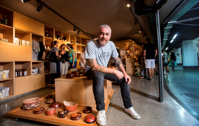 O chef Alex Atala - Foto: Paulo Vitale
