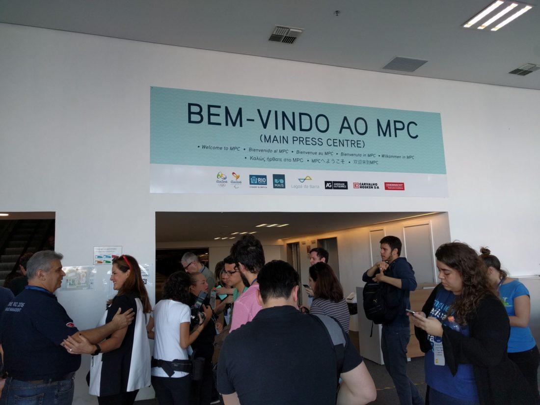 Centro de Imprensa Parque Olimpico Barra