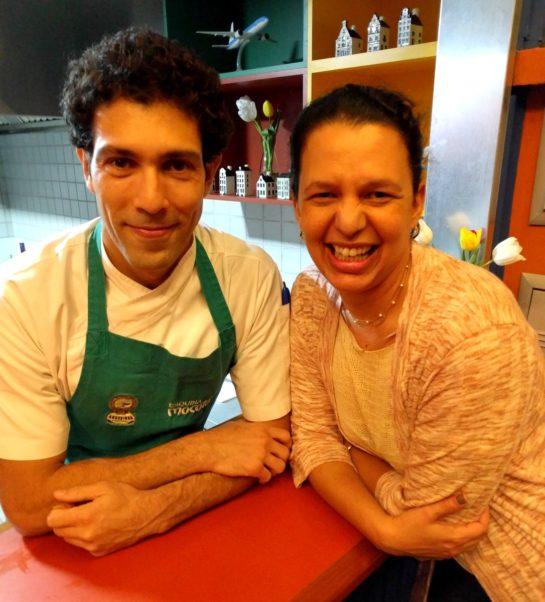 Equipe Longe e Perto e Chef Rodrigo Oliveira do Oliveira
