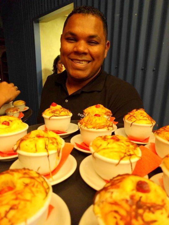 Chef Rodrigo Oliveira no Evento KLM