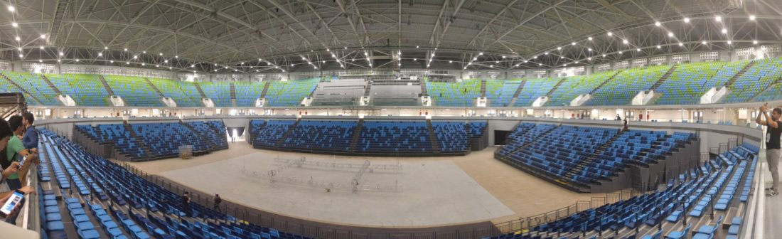 Arena do Amanha - Foto Panoramica