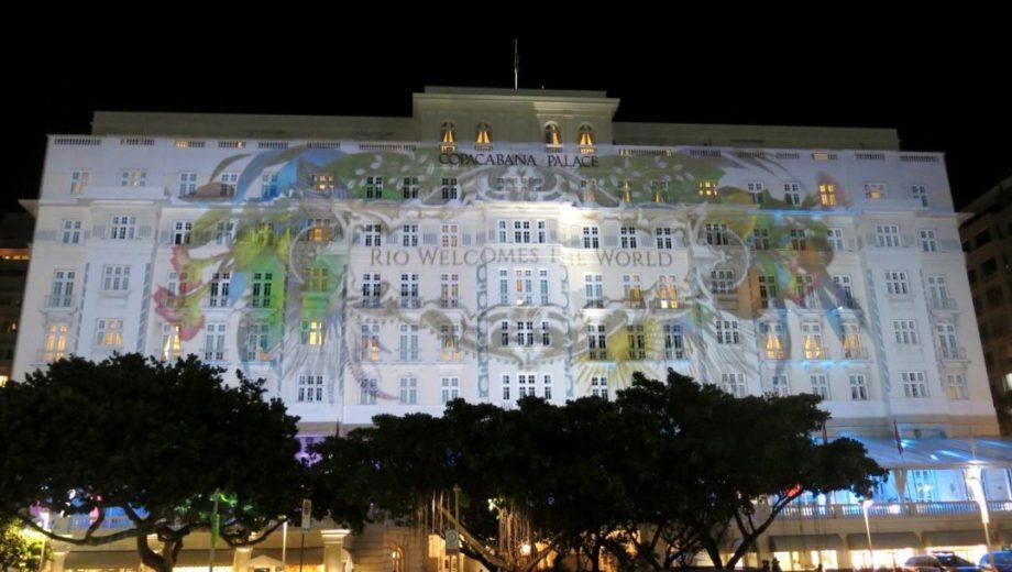 Rio 2016: Hotel Copacabana Palace dá boas-vindas ao mundo