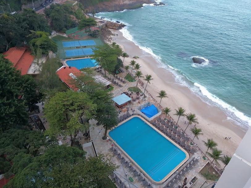 Sheraton quarto vista piscina