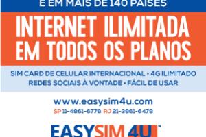 Easysim 4U: Chip de internet ilimitada no exterior