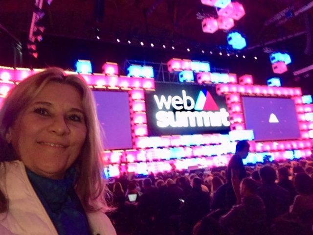 Abertura da Web Summit 2018,o maior evento em tecnologia e empreendedorismo da Europa