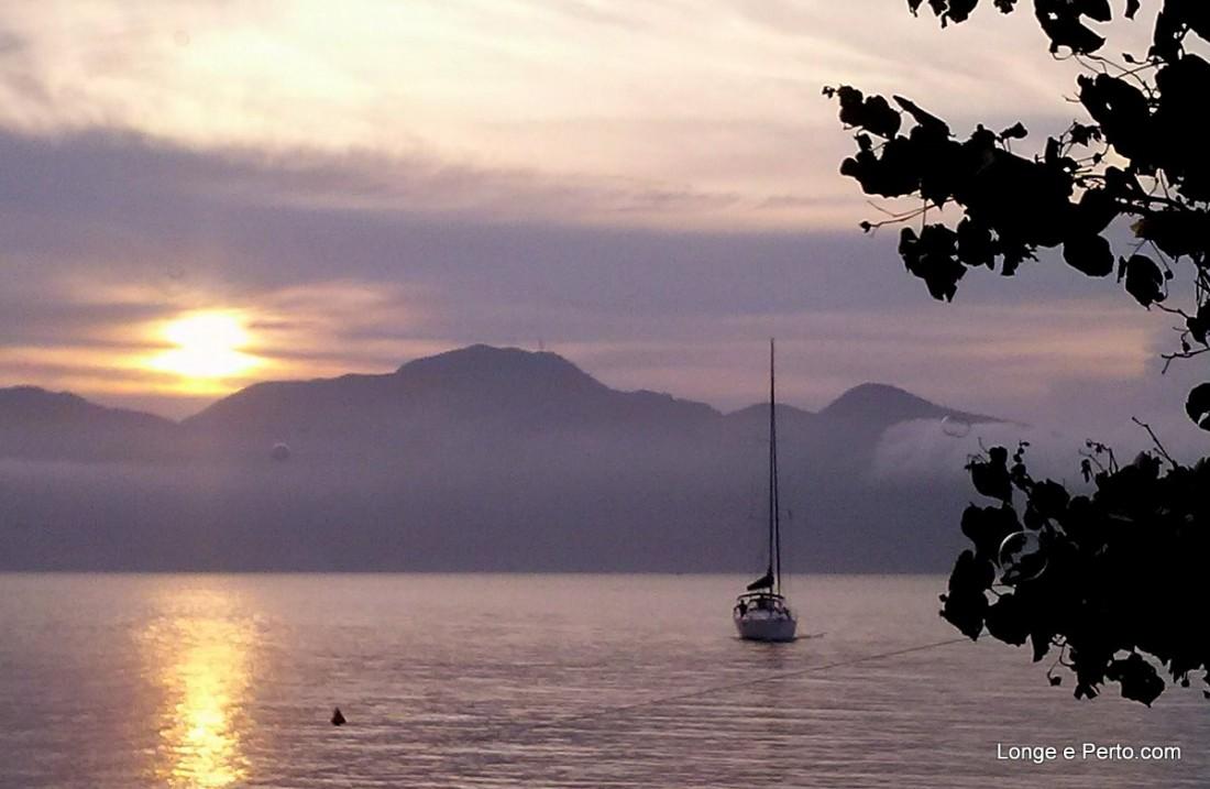 Por do Sol como Testemunha, Casamento em Ilha Bela