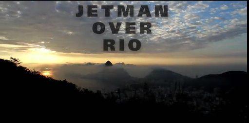 Voando sobre o Rio