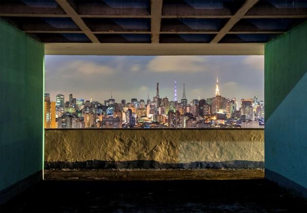 Foto role em São Paulo vista prédios