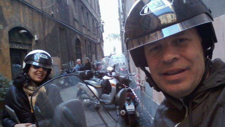 Aluguel de Moto em Roma, uma experiência inesquecível !