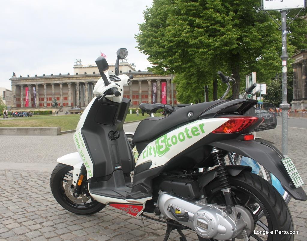 Aluguel de Scooter em Berlim