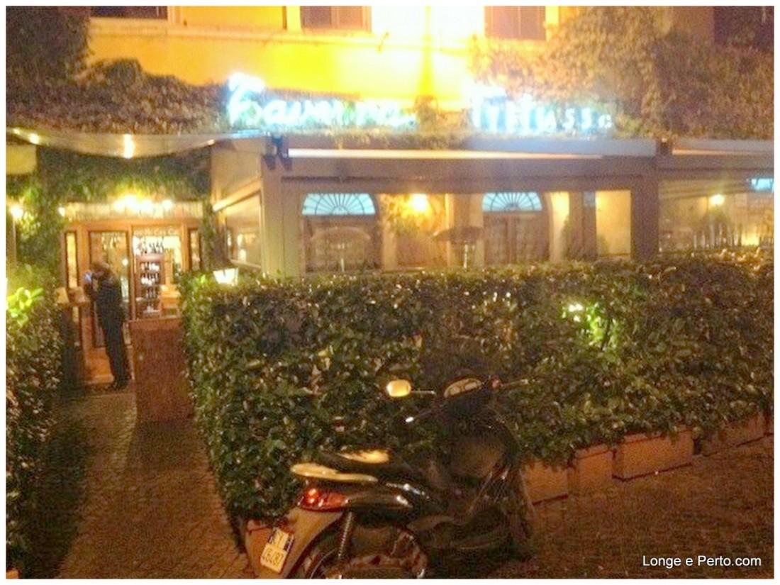 Taverna Trilussa, delícia no boemio bairro Trastevere em Roma!