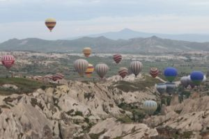 Nosso Passeio de Balão na Capadocia Turquia