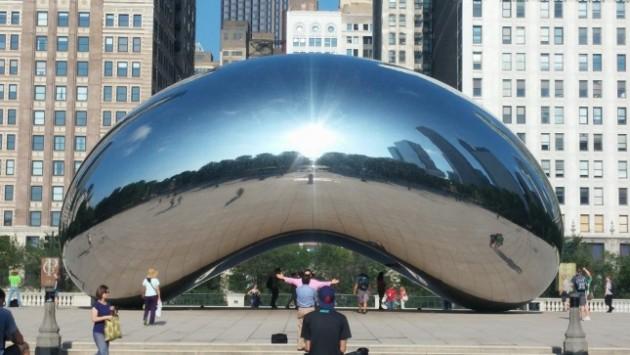 Cloud Gate durante o dia - Chicago