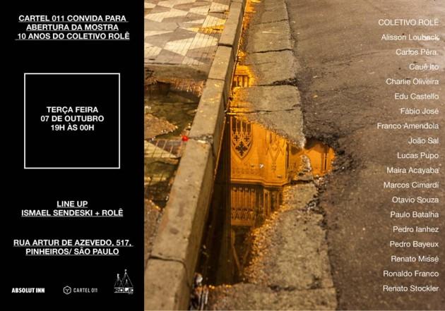 Convite role fotográfico em São Paulo