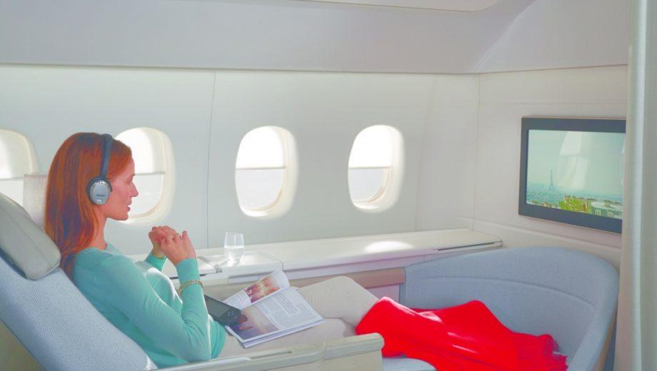Air France Conforto e Elegancia no Ar