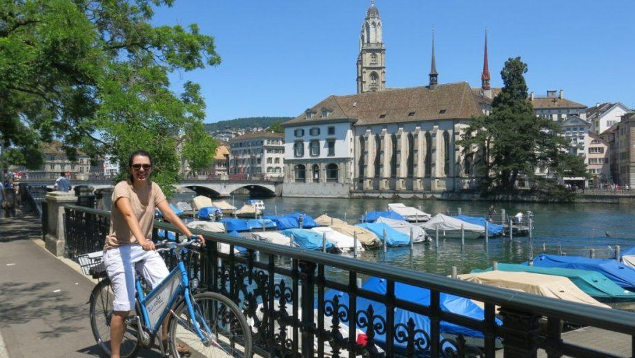 Três dias de Verão em Zurique, Suíça.