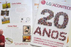 Longe e Perto na Revista LG Acontece