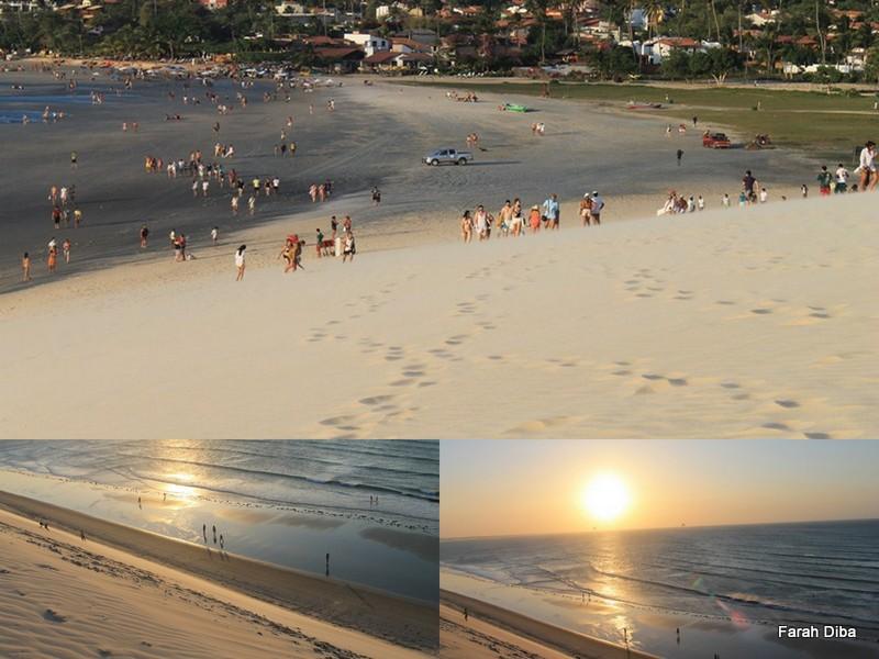 Migração para o Por do Sol, Jericoacoara