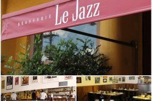 Brasserie Le Jazz, combina com um lindo dia de sol!