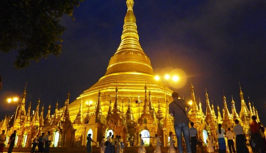 A inesquecível Mianmar no Sudeste Asiático ( Parte 1 -Yangon )