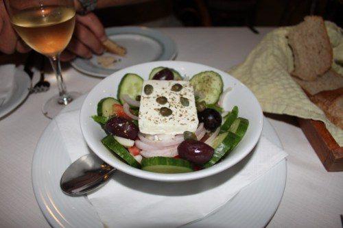 Salada Grega, Lembranças da Grecia
