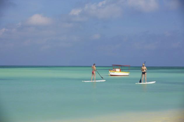 Stand up Paddle em Aruba