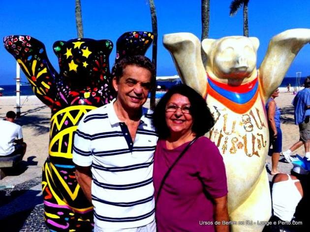 Nossos Leitores: Bernardo e Lenilde Caldas