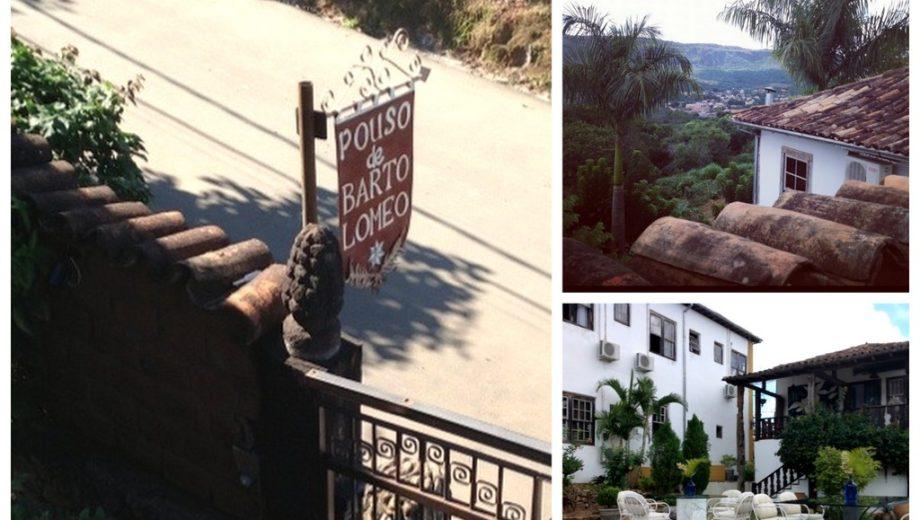 Hotel Pouso de Bartolomeu em Tiradentes, Minas Gerais