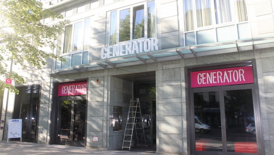 Generator Hostel em Berlim