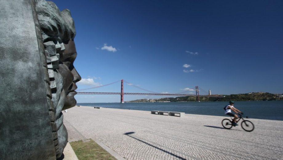 Passeio de bicicleta em Lisboa