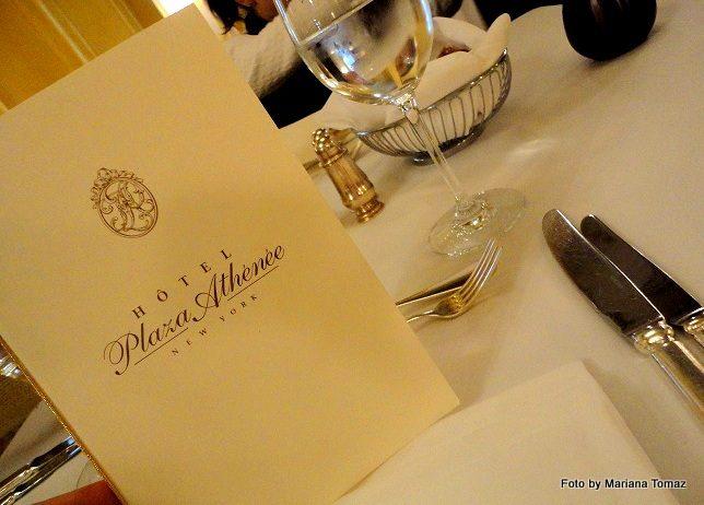 New York – Arabelle, restaurante do hotel Plaza Athenée