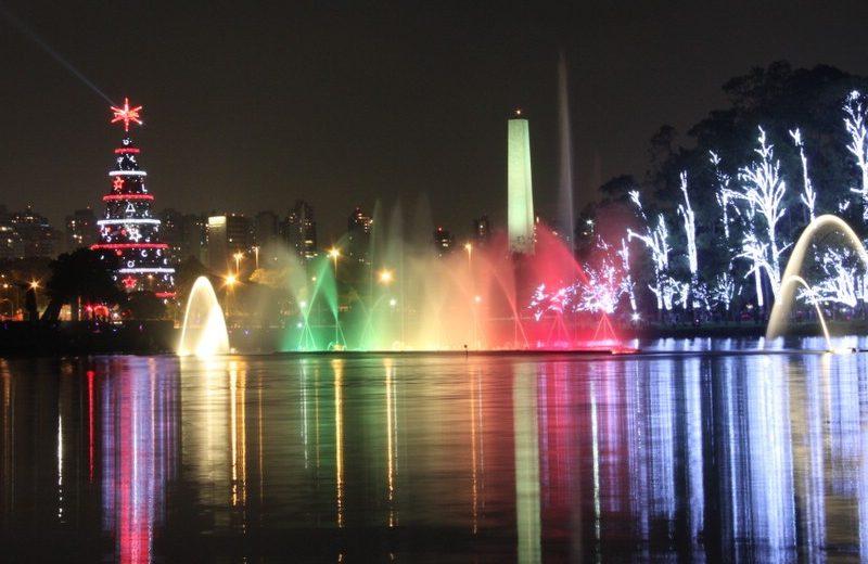 São Paulo no Coração – Iluminação de Natal do Parque Ibirapuera