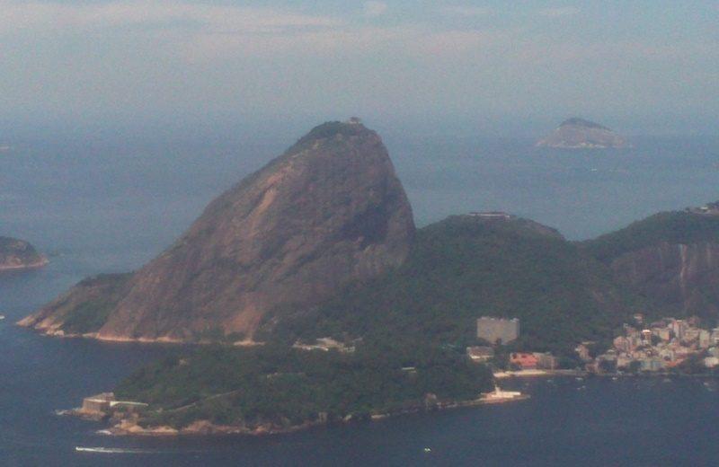 Ponte Aerea SP- Rio e a visão do lado direito da aeronave