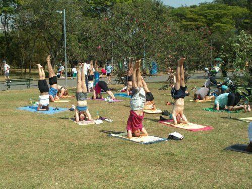 Yoga no Parque Ibirapuera